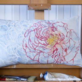 www.marievanesse.com Atelier des Pigments peintures naturelles et décoratives, restauration du patrimoine peinture murale, artisanat d'art : Vanesse Du Chardon