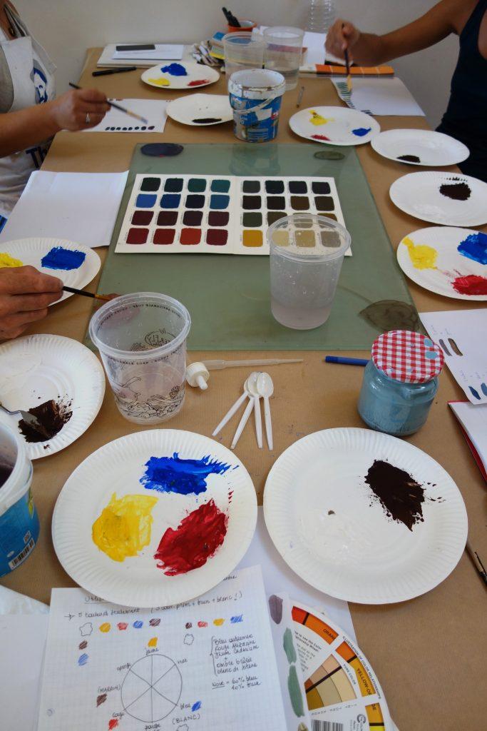 stage de couleurs