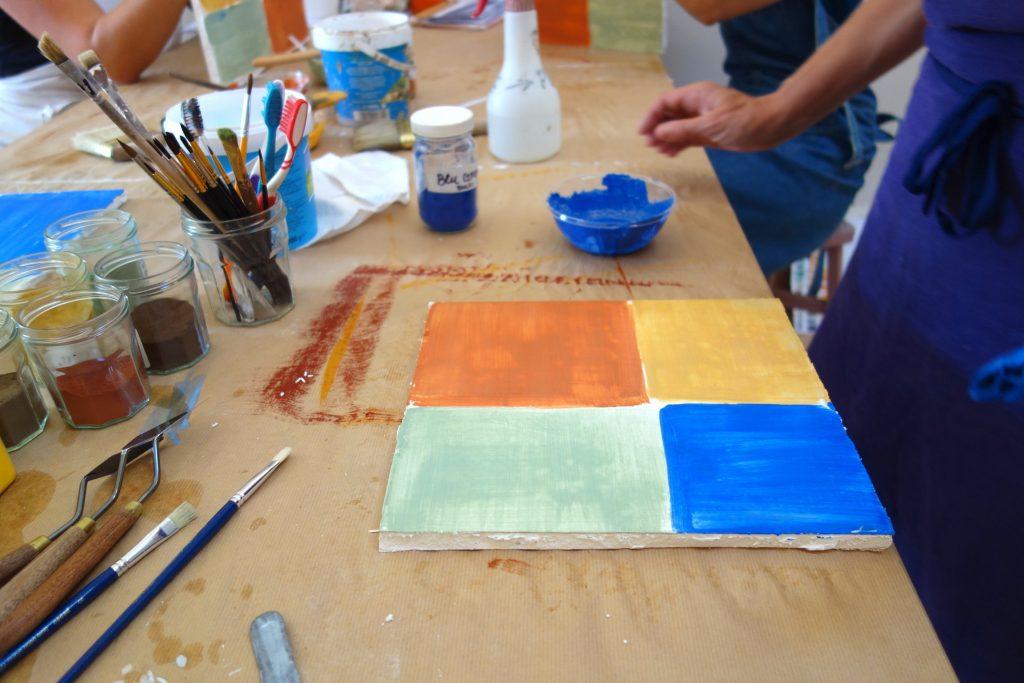 stage de peinture naturelle
