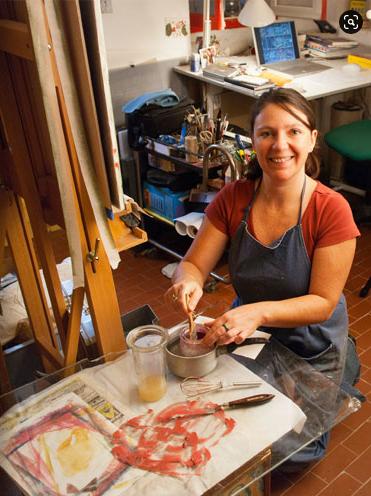 Marie Vanesse, restauratrice du patrimoine